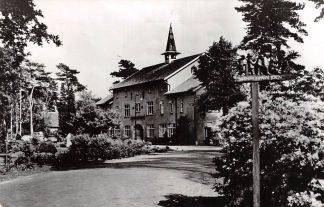 Ansichtkaart Bilthoven Ziekenhuis Berg en Bosch Hoofdgebouw 1963 HC19881