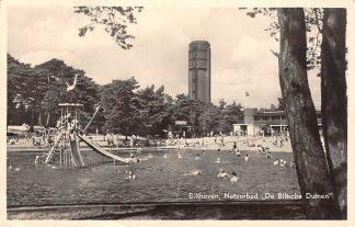 Ansichtkaart Bilthoven Natuurbad De Biltsche Duinen Watertoren Zwembad 1956 HC19910