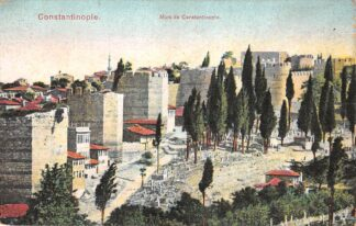Ansichtkaart Turkije Constantinople Murs de Constantinople Turkye Europa HC19956