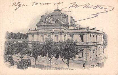 Ansichtkaart Algerije Alger Maison-Carree L'Hotel-de-Ville 1904 Afrika HC19958