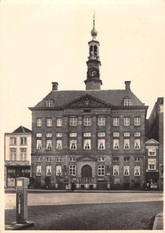 Ansichtkaart 's-Hertogenbosch Stadhuis 5-centskaart Serie 1 Nr 6 HC19963