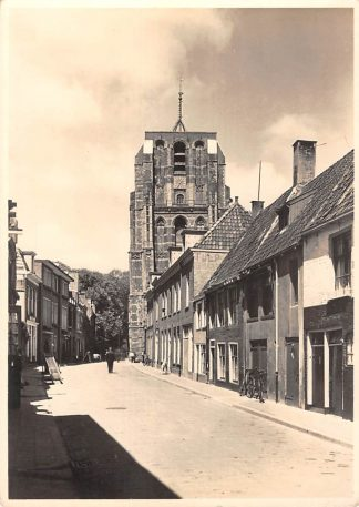Ansichtkaart Leeuwarden Toren De Oldehove 5-centskaart Serie VII Nr 10 HC19966