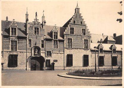 Ansichtkaart Bergen op Zoom Voormalig Markiezenhof 5-centskaart Serie I Nr 5 HC19967