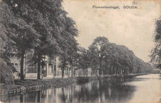 Ansichtkaart Gouda Fluweelensingel 1913 Gompers 51/1000 HC19977