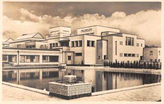 Ansichtkaart 's-Gravenhage Gemeentemuseum uit het Z.W. Type fotokaart HC19984