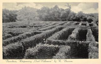 Ansichtkaart Naarden Bussum Dwaaltuin Uitspanning Oud-Valkeveen 1939 HC19990