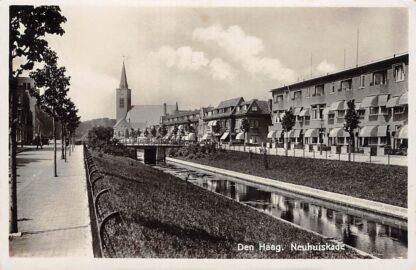 Ansichtkaart Den Haag Neuhuiskade 1937 Kerk HC19993