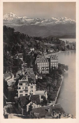 Ansichtkaart Zwitserland Thun Schweiz Switzerland Swizerland Europa HC20046