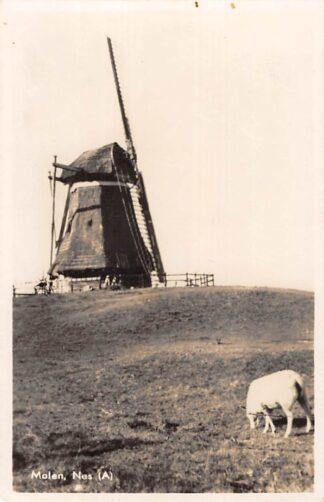 Ansichtkaart Nes Ameland Molen 1947 HC20087