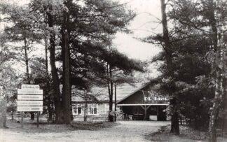 Ansichtkaart Hoenderloo N.V. Kampeercentrum De Rimboe van 1934 Camping HC20135