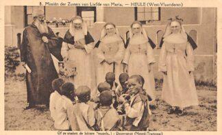 Ansichtkaart Zuid-Afrika Missiën der zusters van Liefde van Maria Heule West-Vlaanderen Doornspruit West-Transvaal Of se maken de lekkere reuzels! Afrika Africa België HC20178