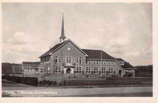 Ansichtkaart Eelde 't Nieuwe Gemeentehuis 1949 HC20195