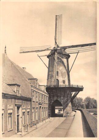 Ansichtkaart Wijk bij Duurstede Molen 5-centskaart Type Walmolen Molenserie Nr. 16 HC20272