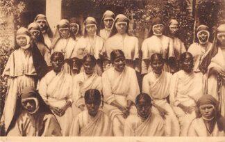 Ansichtkaart Congo Belge Kanunnikessen - Missiezusters van den H. Augustinus Heverlee-bij-Leuven België Afrika HC20302