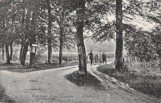 Ansichtkaart Hilversum Weg naar Lage Vuursche Baarn 1920 HC20354