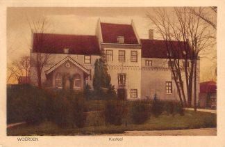 Ansichtkaart Woerden Kasteel 1929 HC20371