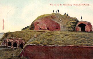 Ansichtkaart Maastricht Fort op den St. Pietersberg 1908 HC20392