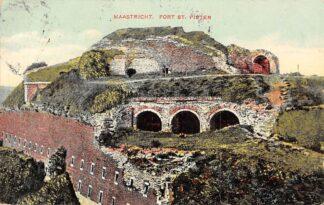 Ansichtkaart Maastricht Fort St. Pieter St. Pietersberg 1908 HC20393