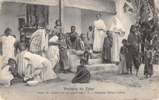 Ansichtkaart India Britsch Indië Verpleging der Zieken 1911 Missie der zusters van het gezelschap J.M.J. Vetapalem Azië HC20407