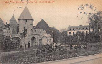 Ansichtkaart Maastricht Pater Vink-torentje Ruïne 1910 HC20433