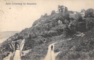 Ansichtkaart Maastricht Ruïne Lichtenberg 1912 HC20436