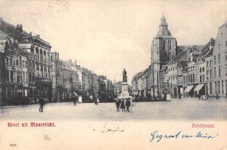 Ansichtkaart Maastricht Boschstraat 1907 HC20439