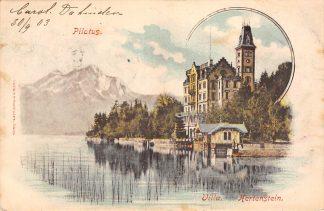 Ansichtkaart Zwitserland Pilatus Villa Hertenstein 1903 Suisse Schweiz Switzerland Europa HC20464