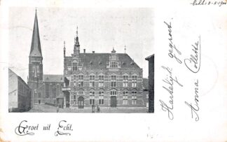 Ansichtkaart Echt - Susteren Groet uit 1900 Limburg HC20497