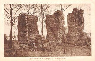 Ansichtkaart Lichtenvoorde Ruïne van de oude kapel 1929 HC20498