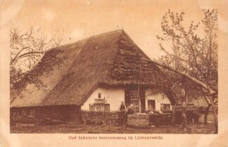 Ansichtkaart Lichtenvoorde Oud Saksische Boerderij 1925 Dorpsleven HC20502