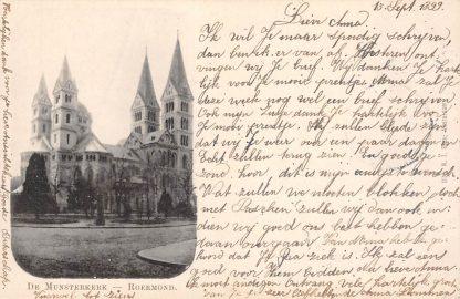 Ansichtkaart Roermond De Munsterkerk 1899 HC20515