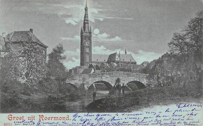 Ansichtkaart Roermond 1899 HC20517