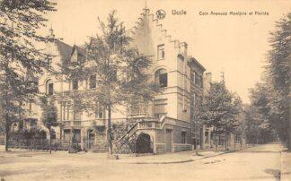 Ansichtkaart België Uccle Ukkel Coin Avenues Montjoie et Floride 1920 Europa HC20534