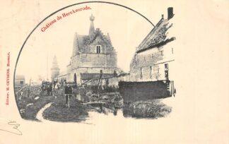 Ansichtkaart België Hassselt Chateau de Herckenrode 1901 Europa Kasteel Europa HC20541