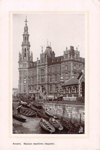 Ansichtkaart België Antwerpen Anvers Maison martime facade 1911 Europa HC20661