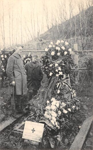 Ansichtkaart België Brussel Bruxelles Tir National Cimetiere des victimes de l'occupation allemande Tombe de Miss Caveil WO1 1914-1918 Begraafplaats Europa HC20666