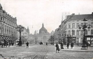 Ansichtkaart België Antwerpen Anvers Avenue De Keyser 1908 Europa HC20675