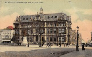 Ansichtkaart België Antwerpen Anvers L'Athenee Royal 1911 Europa HC20679