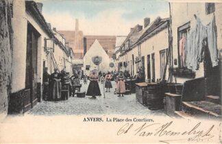 Ansichtkaart België Antwerpen Anvers La Place des Courtiers 1902 Europa HC20684