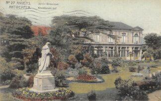 Ansichtkaart België Antwerpen Anvers Kruidkunde-Hof 1911 Europa HC20685