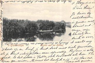 Ansichtkaart 's-Gravenhage Gezicht aan het Kanaal 1903 HC20694