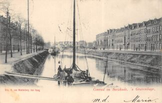 Ansichtkaart 's-Gravenhage Conrad en Suezkade 1903 HC20696