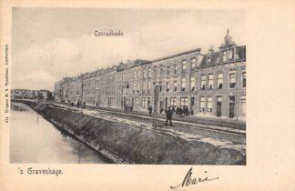 Ansichtkaart 's-Gravenhage Conradkade 1902 HC20699
