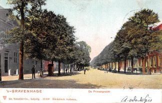 Ansichtkaart 's-Gravenhage De Prinsengracht 1904 HC20708