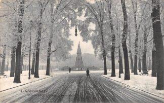 Ansichtkaart 's-Gravenhage Plein 1813 in de winter 1908 HC20709