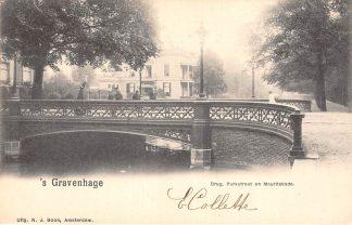 Ansichtkaart 's-Gravenhage Brug Parkstraat en Mauritskade HC20715