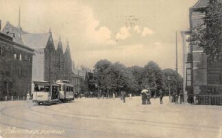 Ansichtkaart 's-Gravenhage Voorhout 1906 HTM Tram 402 Lijn 8 HC20720