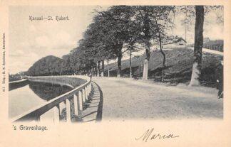 Ansichtkaart 's-Gravenhage Kanaal St. Hubert HC20721
