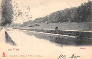 Ansichtkaart Den Haag Kanaal 1903 HC20723