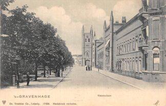 Ansichtkaart 's-Gravenhage Nassaulaan 1903 HC20725